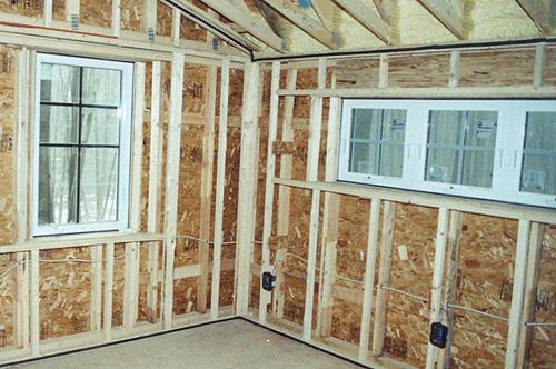 bali villa interior design likewise log cabin kitchen and dining room brainright interior wall framing