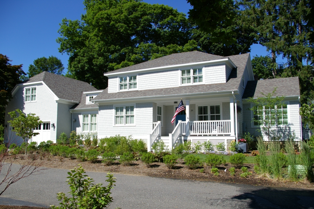 Existing home retrofitted and renovated into a Green Home in CT