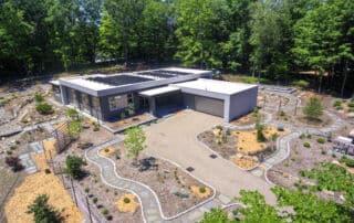 net zero energy home in Pound Ridge NY