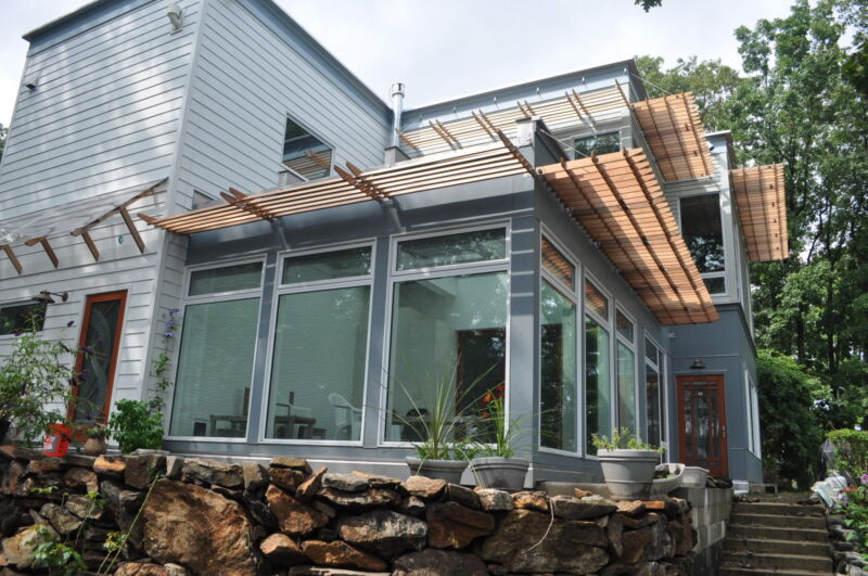 LEED Platinum Zero Energy Ready Home - New Fairfield CT Built by BPC Green Builders