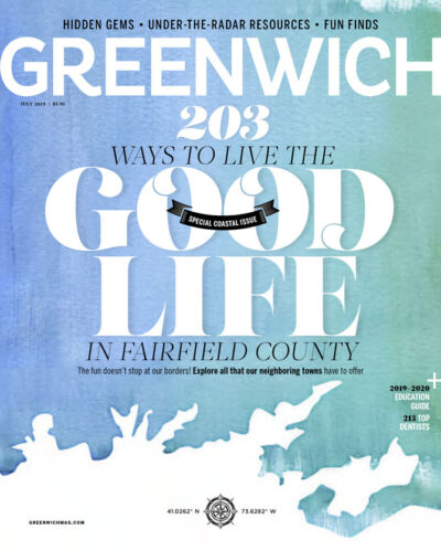 Greenwich magazine cover