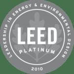 LEED Platinum 2010 badge