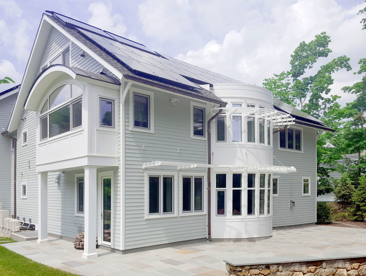 green home in New Canaan CT by BPC