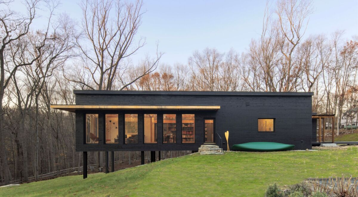 passive house exterior in CT