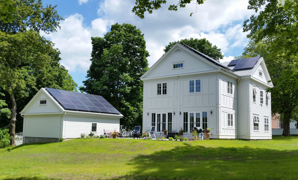certified passive home that is also LEED platinum certified in CT