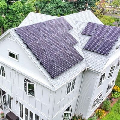 positive Energy Home solar panels