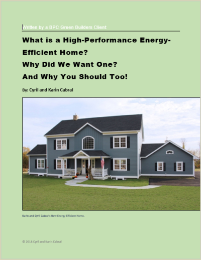 free ebook cover about energy efficient home in NY