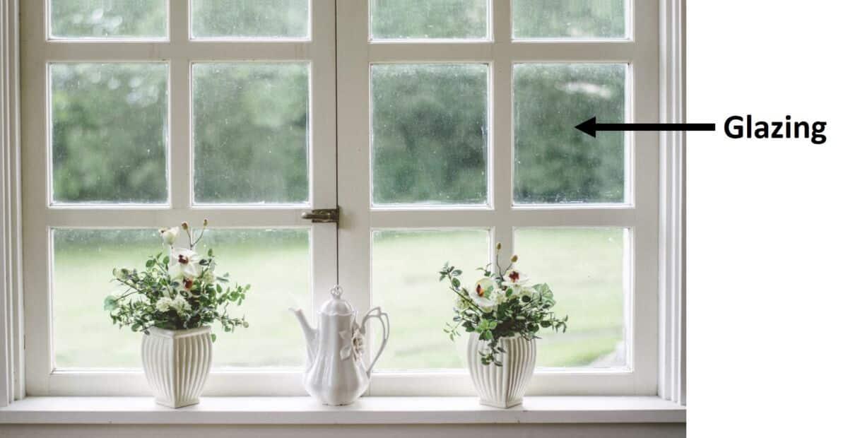 photo of glazing