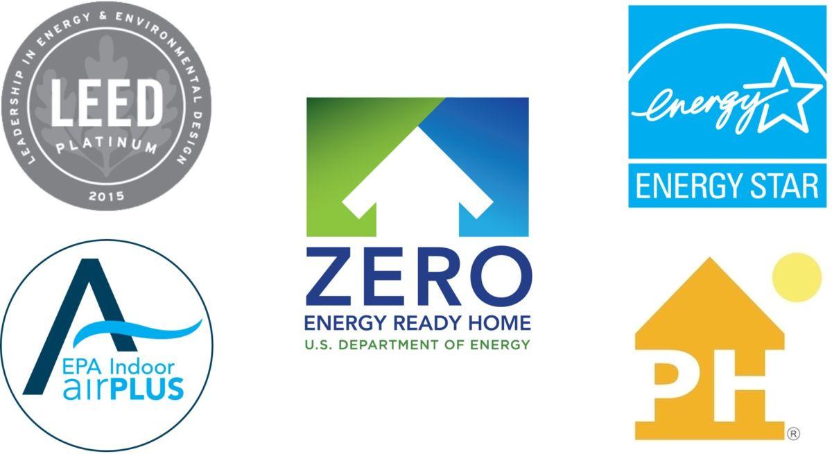 green building standard logos