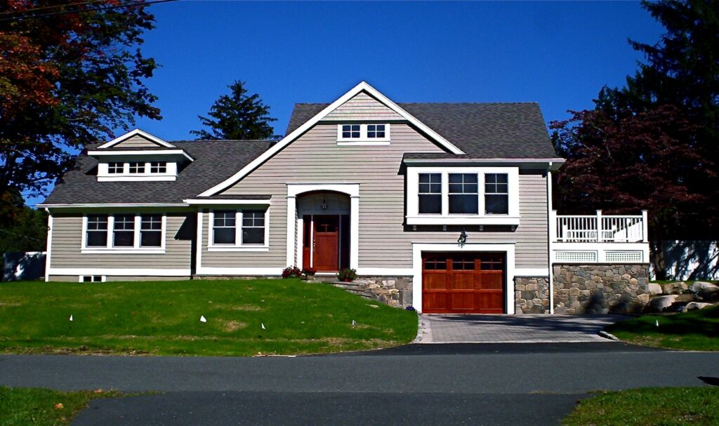 front of energy efficient home