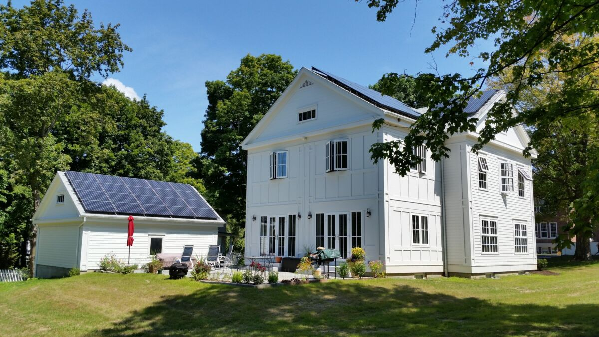 passive house colonial in CT